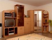 Продам модульную систему (стенку) «Реал-люкс»,  цвет вишня оксфорд,  про